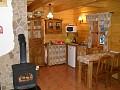 Liptovská drevenica - Kuchynka apartmánu č. 1