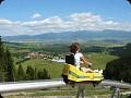 Letná horská bobová dráha - 3,5 km od chalupy